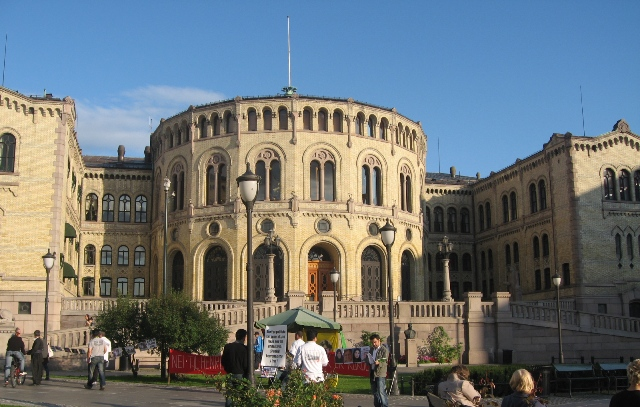 Norwegian Parliament that appoints Nobel Peace Prize Committee