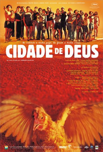 City of God (2002) was filmed in the favelas of Rio de Janeiro