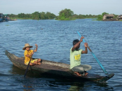 Fishing on the Tonle Sap lake in Cambodia: An 'ecological hot spot' on the Mekong
