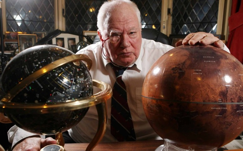 Sir Patrick Moore (1923 -2012): A colourful journey fuelled by enthusiasm