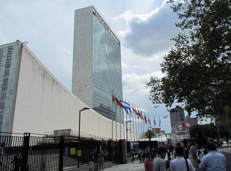 UN Headquarters in New York, photo by Nalaka Gunawardene