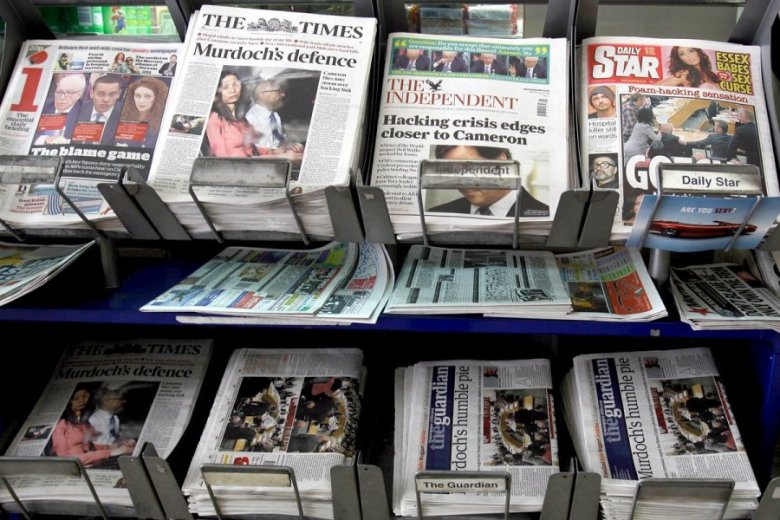 Faced with declining sales, British newspapers are keen to find how to engage readers through new formats and strategies
