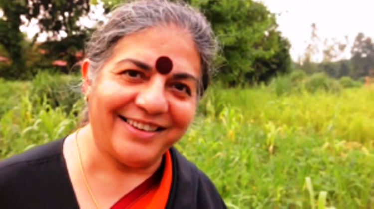 Dr Vandana Shiva. image courtesy seedfreedom.in