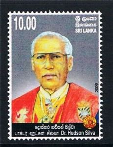 Dr Hudson Silva stamp issued in 2009
