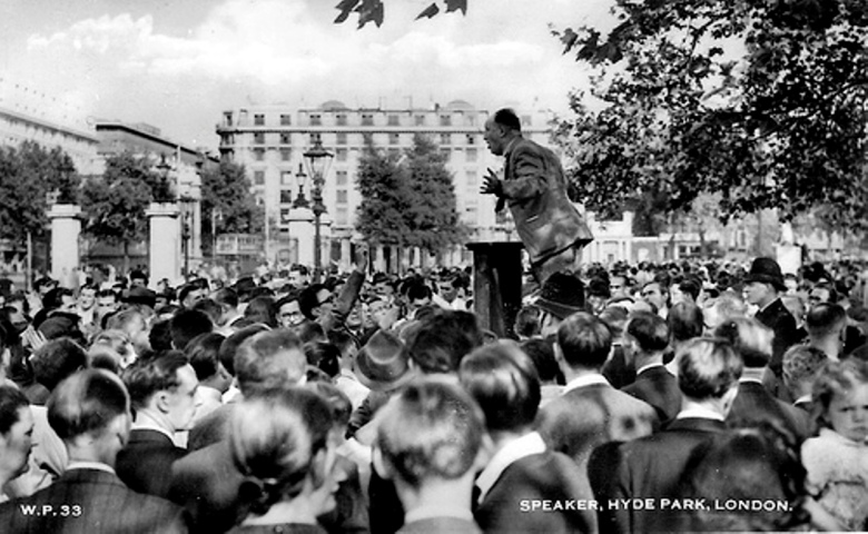 Speakers' Corner, Hyde Park, London