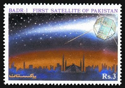 Pakistan's first satellite named Badar-1 by SUPARCO