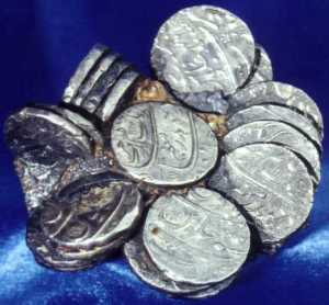 Coins from the Great Basses shipwreck