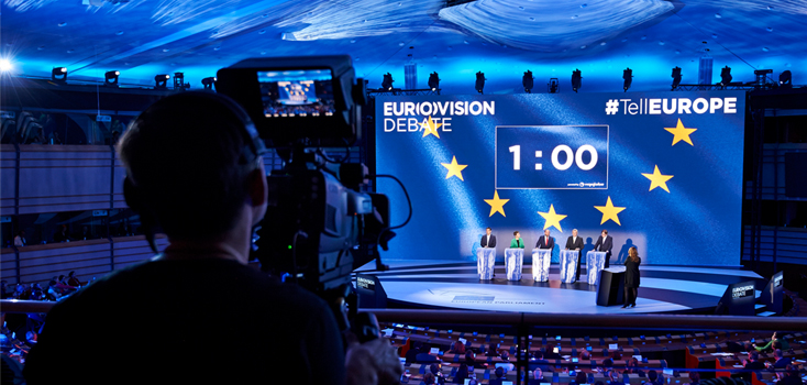 European Union Presidency - Candidates join TV debate in May 2014