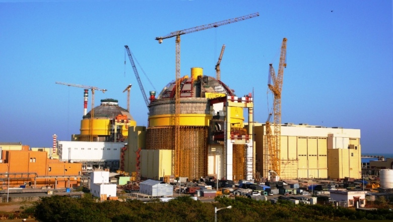 Construction of the Koodankulam Nuclear Power Plant in Tamil Nadu, India