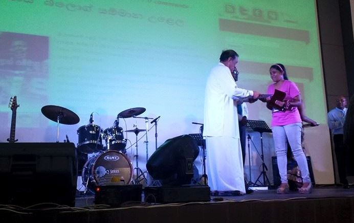 Yashodha Sammani Premaratne (Bassi) - second best verse in blog award
