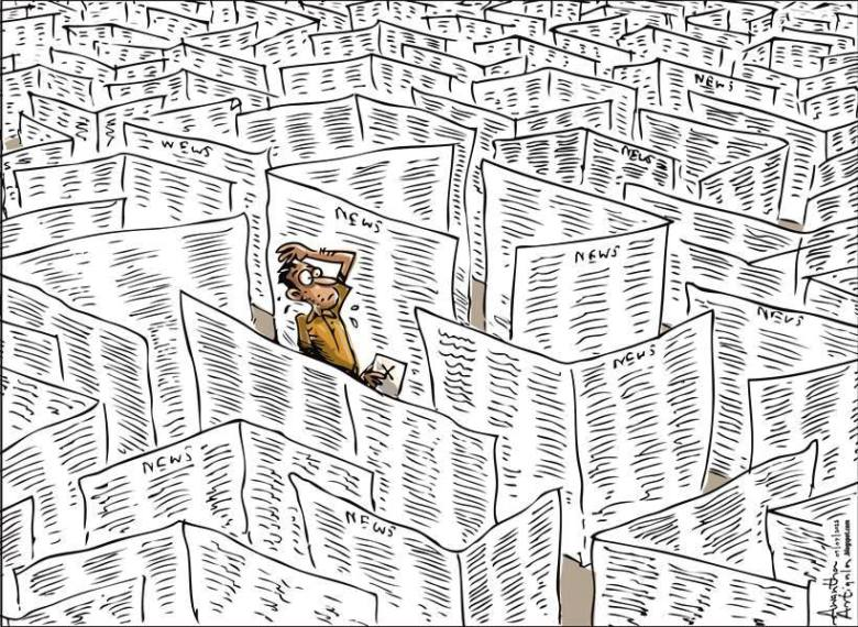 Cartoon by Awantha Artigala, Sri Lanka Cartoonist of the Year 2014
