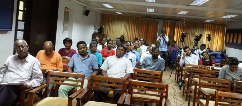 Part of the audience at RTI Public Forum on 17 Nov 2015 in Colombo