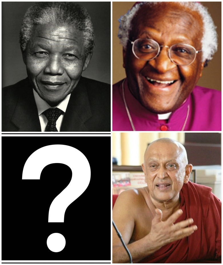 Mandela, Tutu and Sobitha