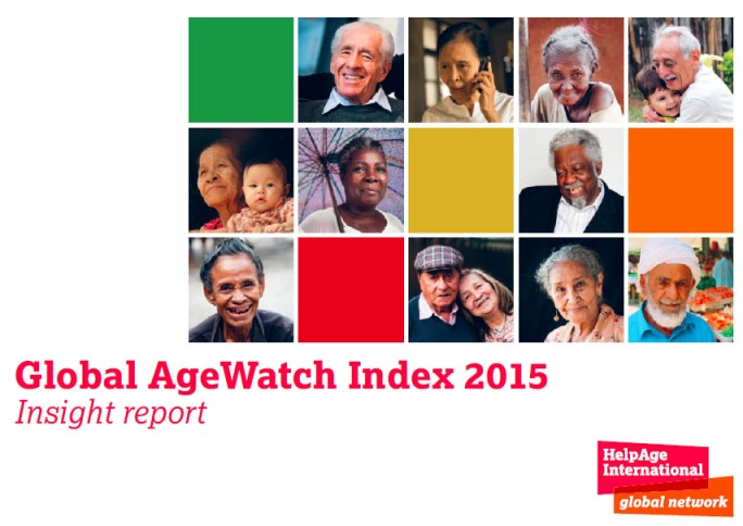 Global AgeWatch 2015 Report cover