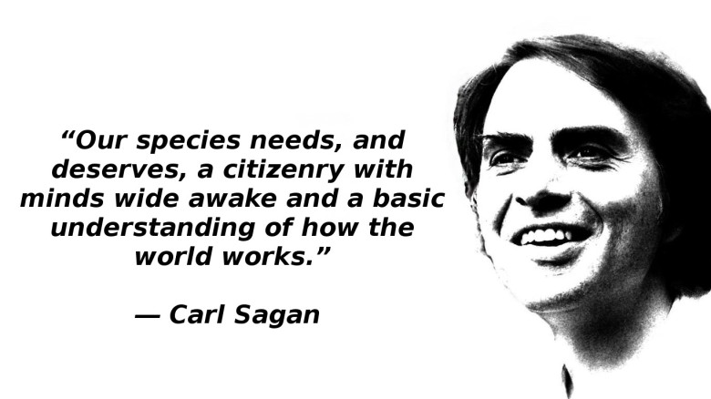 Carl Sagan: A voice of reason in our times