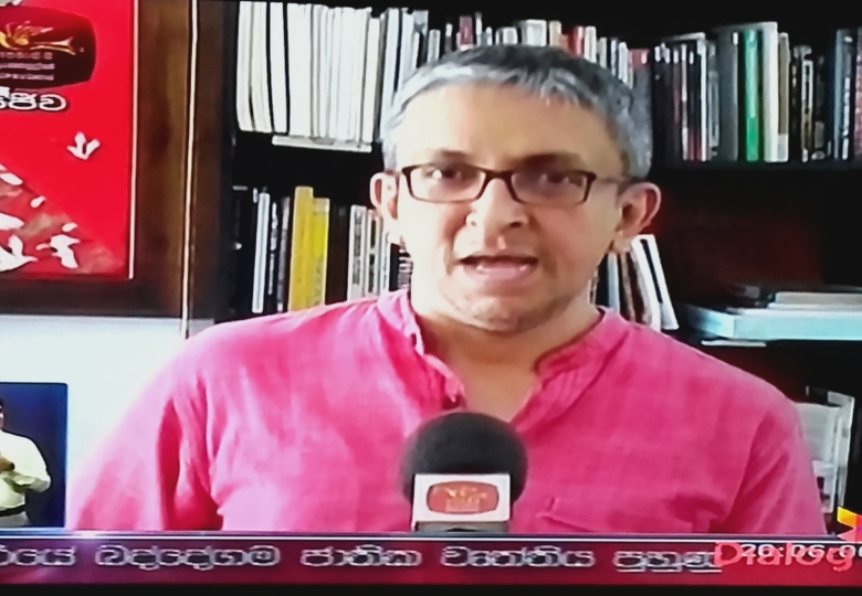 Nalaka Gunawardene in Rupavahini interview on Sri Lanka's Right to Information RTI Law, 25 June 2016