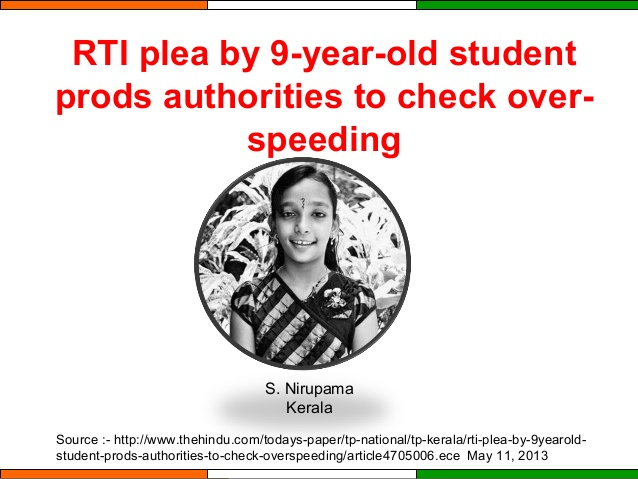 RTI has transformed Indian society within a decade